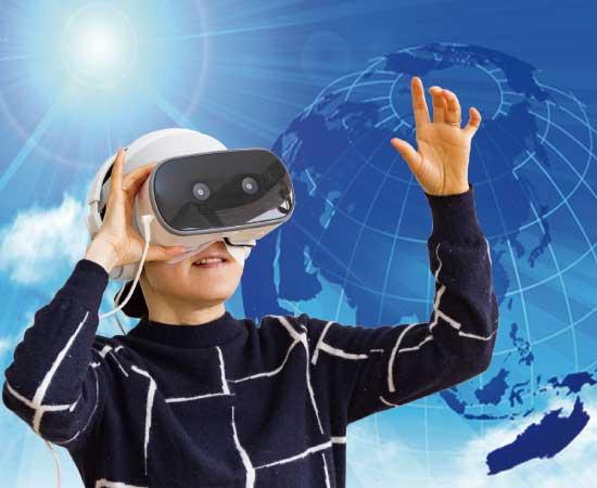観光振興策VR体験