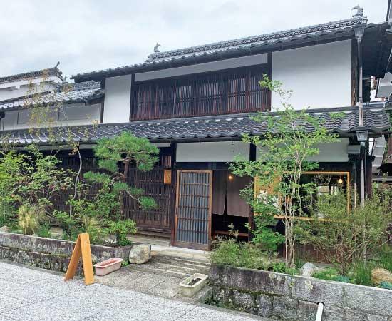 築120年の古民家を利用した店舗