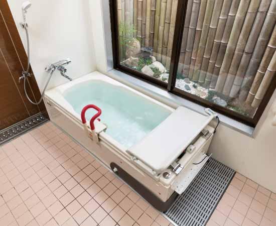 家庭用浴槽タイプの介護浴槽
