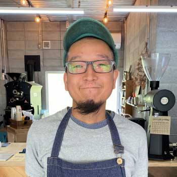 NiBBLES COFFEE!代表 松田 直起 氏
